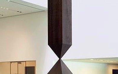 """""""BROKEN OBESLISK""""  Barnett Newman, artist  1960s"""