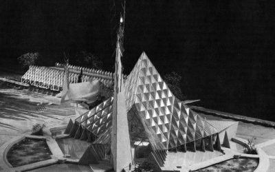 """Crystal Chapel"" Bruce Goff, architect 1950"