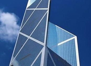 The Bank of China, Hong Kong I.M. Pei and PartnersCompleted 1990
