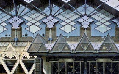 Tokyo Budokan, Japan  Kijo Rokkaku, architect 1989